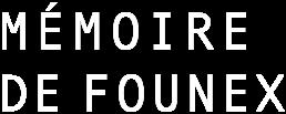 logo en tête du site web mémoire de founex
